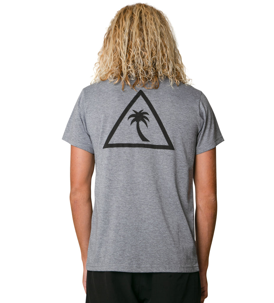 The Surf Shirt S/S - Heather Grey