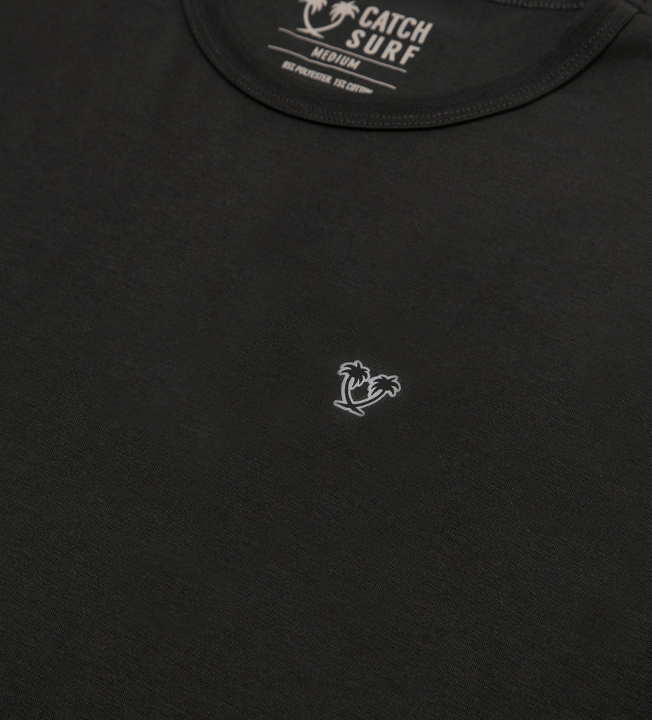 The Duke Surf Shirt S/S - Black