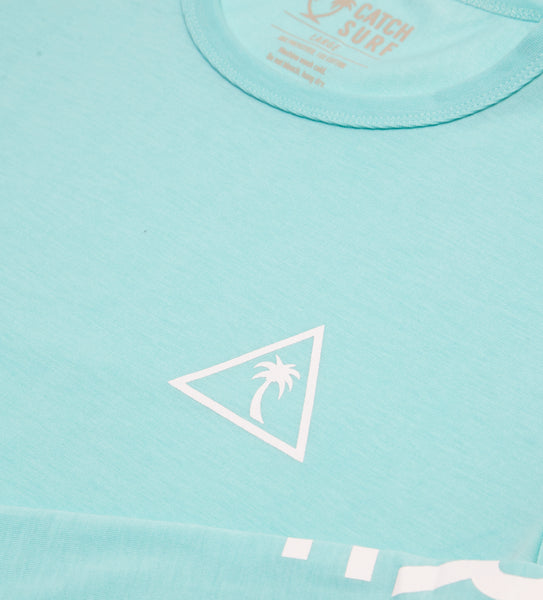 The Surf Shirt L/S - Aqua