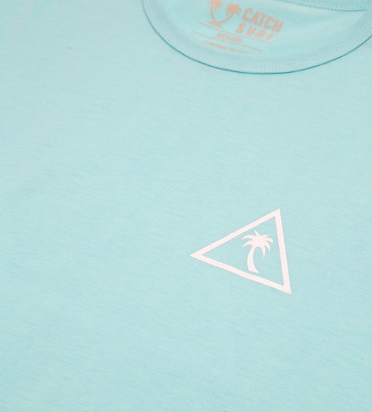 The Surf Shirt S/S - Aqua