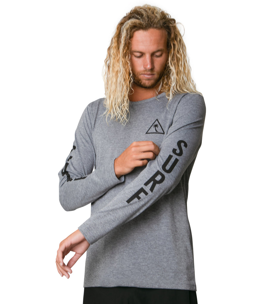 The Surf Shirt L/S - Heather Grey