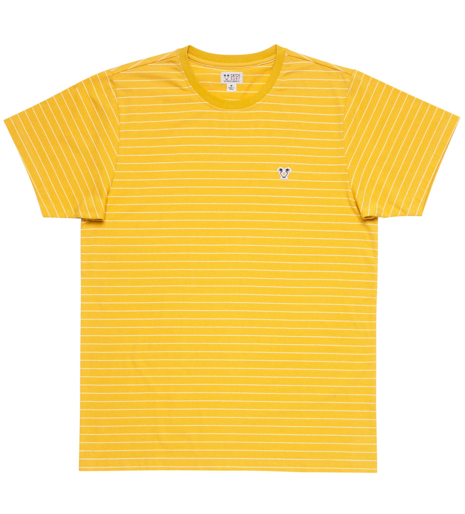 Ensign S/S Striped Knit - Gold