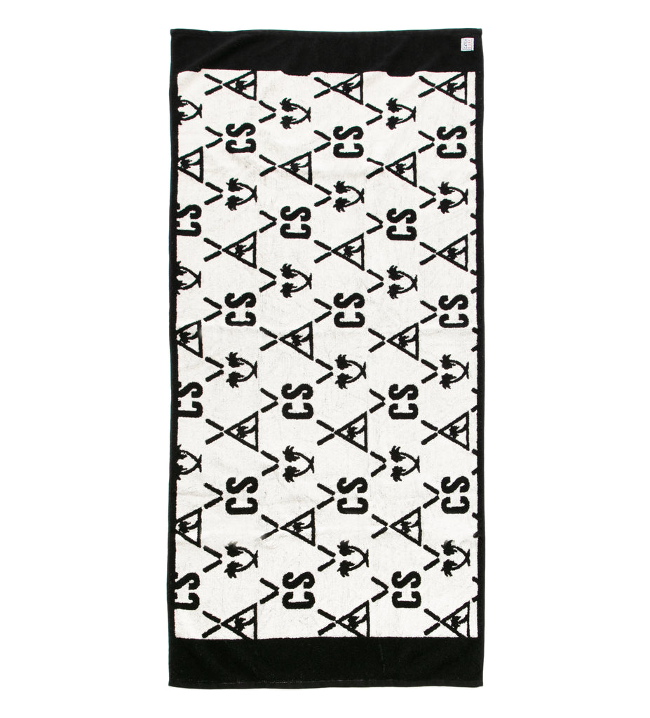 Suite Beach Towel - White