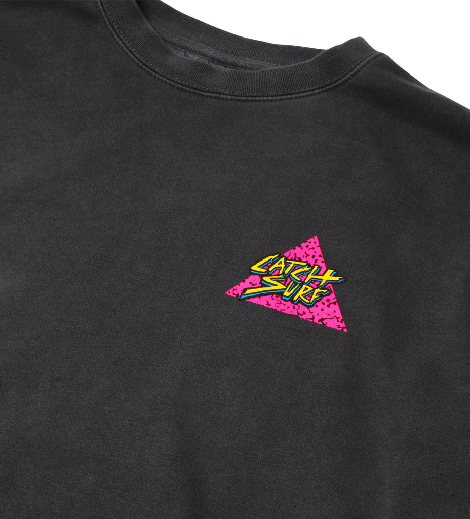 Triangle Slash Pigment-Dyed Sweatshirt