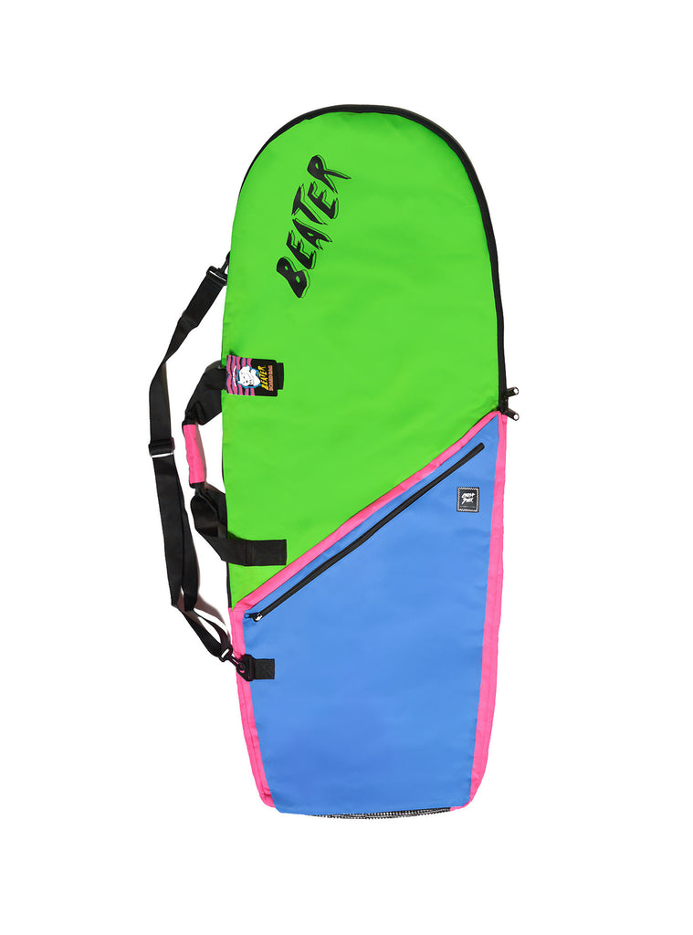 Catch Surf Board Bag  - Lime/Blue