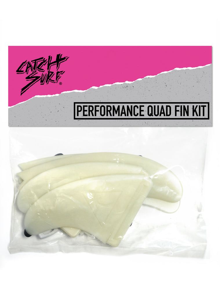 Hi-Perf Quad Fin Set