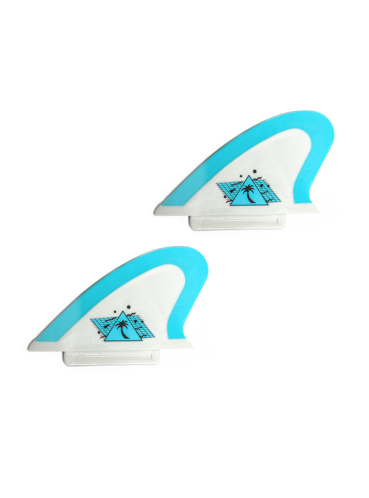 Safety-Edge Twin Fin Set