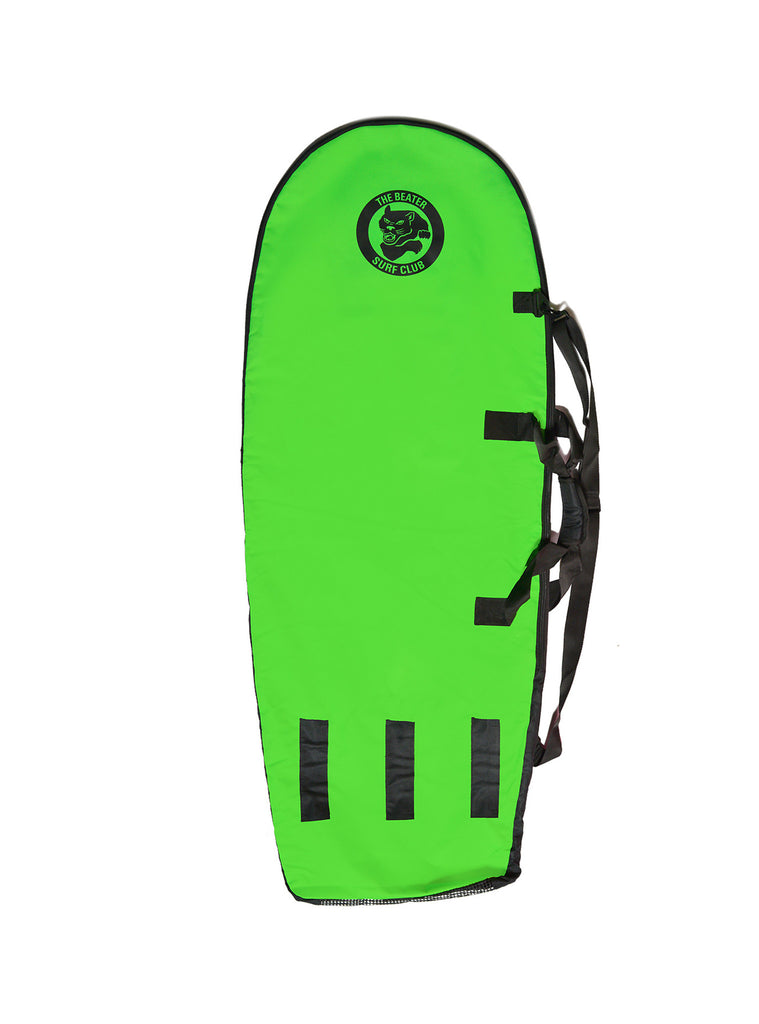 Catch Surf Board Bag - Black/Lime