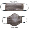 Silver Mesh Mask - Pleated