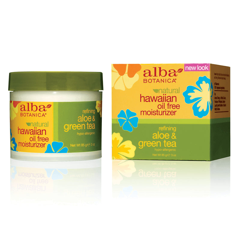 Aloe & Green Tea Moisturizer, 85 g