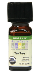 Tea Tree Organic Essential Oil, 7.4 ml