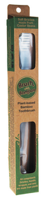 Brush With Bamboo Adult Toothbrush, 1in x 8.5in