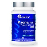 Magnesium + Vegan D3 & K2 for Bones, 90 v-caps