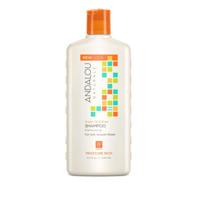 Argan Oil & Shea Moisture Rich Sham, 340 ml