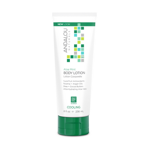 Aloe Mint Cooling Body Lotion, 236ml