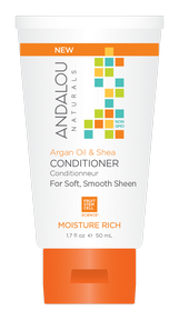 Argan Oil & Shea Moist Rich Condit, 50ml x 6