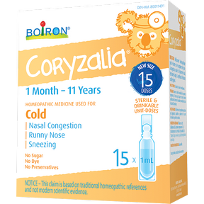Coryzalia Cold, 15 x1ml