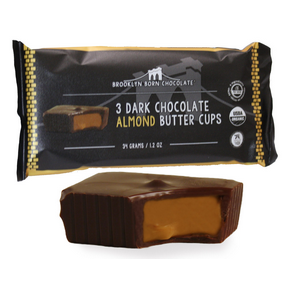 Dark Chocolate Almond Butter Cups, 12 x 1.2oz