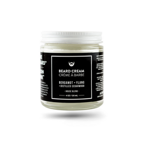 Beard Cream: Bergamot, Ylang, Cedar, 120ml