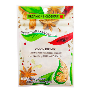 Organic Onion Dip Mix, 6x25g