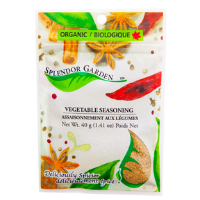 Organic Vegetable Seasoning, 6x40g