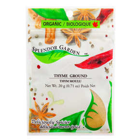 Organic Thyme Ground, 6x20g