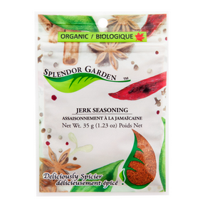Organic Jerk Seasoning, 6x35g