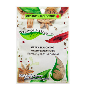 Organic Greek Seasoning, 6x35g
