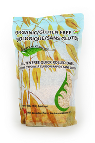 Org GF Quick Rolled Oats, 10x908g