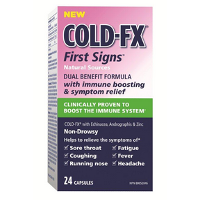 COLD-FX First Signs-Echinacea, 24 caps