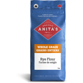 Rye Flour (Whole Grain Dark), 4 x 1 kg