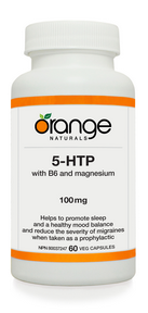 5-HTP 100mg with B6 and Magnesium, 60 vegicaps