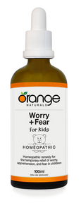 Worry+Fear (Kids) Homeopathic, 100 ml