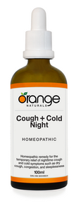 Cough+Cold Night Homeopathic, 100 ml