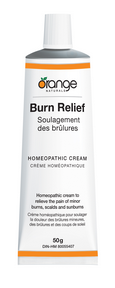 Burn Relief Homeopathic Cream, 50g