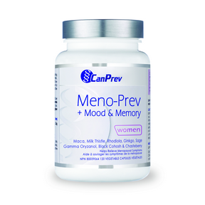 Meno-Prev + Mood & Memory, 120 vegicaps