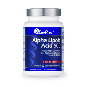 Alpha Lipoic Acid 600mg, 60 vegicaps