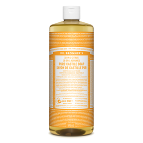 Citrus Pure-Castile Liquid Soap, 32oz / 946ml