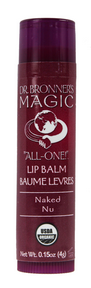 Naked Lip Balm, 12 x .15oz