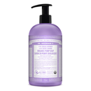 Lavender Sugar Pump Soap, 24oz / 710ml