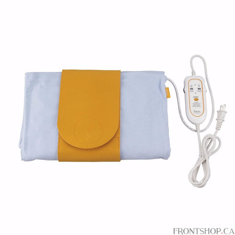 This Therma Moist Heating Pad by Drive Medical is ideal in the treatment of arthritis, back pain, sprains and strains, muscle soreness, neck pain, headaches and sports related injuries. It comes with a positioning strap with hook-and-loop fasteners to ensure a secure, proper fit for maximum treatment. The outer, flannel cover draws the airs humidity and retains it, releasing the moisture once the pad warms directly onto the treated are. The moist heat therapy is more effective than dry heat because moisture