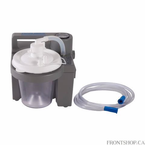 DeVilbiss Healthcare has been delivering the best portable suction options for more than 18 years. The 7305 Series Homecare Suction Unit is a compact medical suctioning device which haas been designed for reliable, portable operation. Because of the small size, light weight, and DC operation features, the 7305 Suction Unit is ideal for providing suction in the home or on the go with the DC cord.
