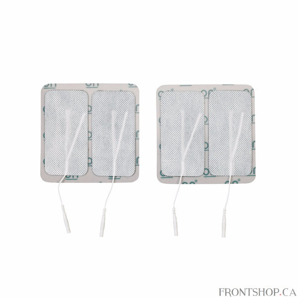 "The oval multitask pre-gelled electrodes by Drive Medical is designed to provide comfort while delivering an efficient treatment. All Drive electrodes are manufactured with American made multitask gel to ensure proper adhesion to the body. The package includes 4 electrodes and is available in: Oval 2"" x 4.15"""
