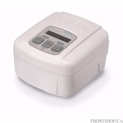 The IntelliPAP Standard Plus is a fixed pressure CPAP with a SmartFlex expiratory relief comfort feature designed for the effective treatment of Obstructive Sleep Apnea. Its robust ergonomic design and its small size make it the ideal travelling companion.