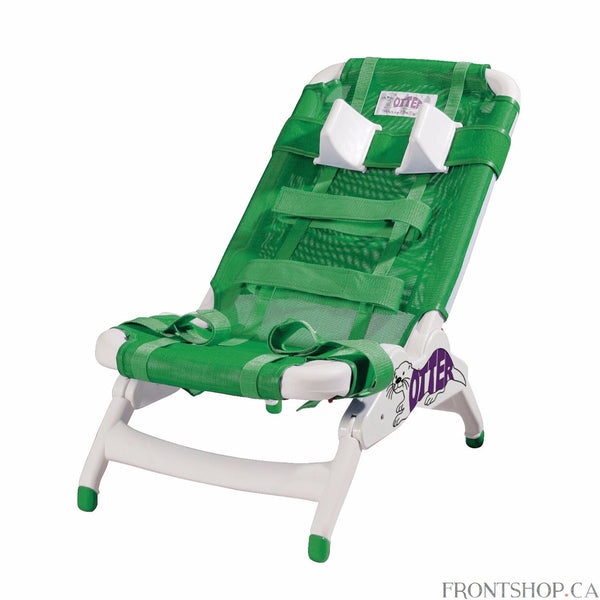 "Wenzelite offers the best in all products for pediatric rehabilitation. This chair is made of a durable plastic frame and has a fabric that can be easily removed and machine washed for convenience. The seat and back are adjustable to angles of 0, 22.2, 45, 67.5, and 90 degrees to ensure comfort while bathing. This is done by using the unit-bars located on the upper back of the seat and lower back of the seat. The legs are slip-resistant for safety and can raise the chair to a height of 7"", even while the us"