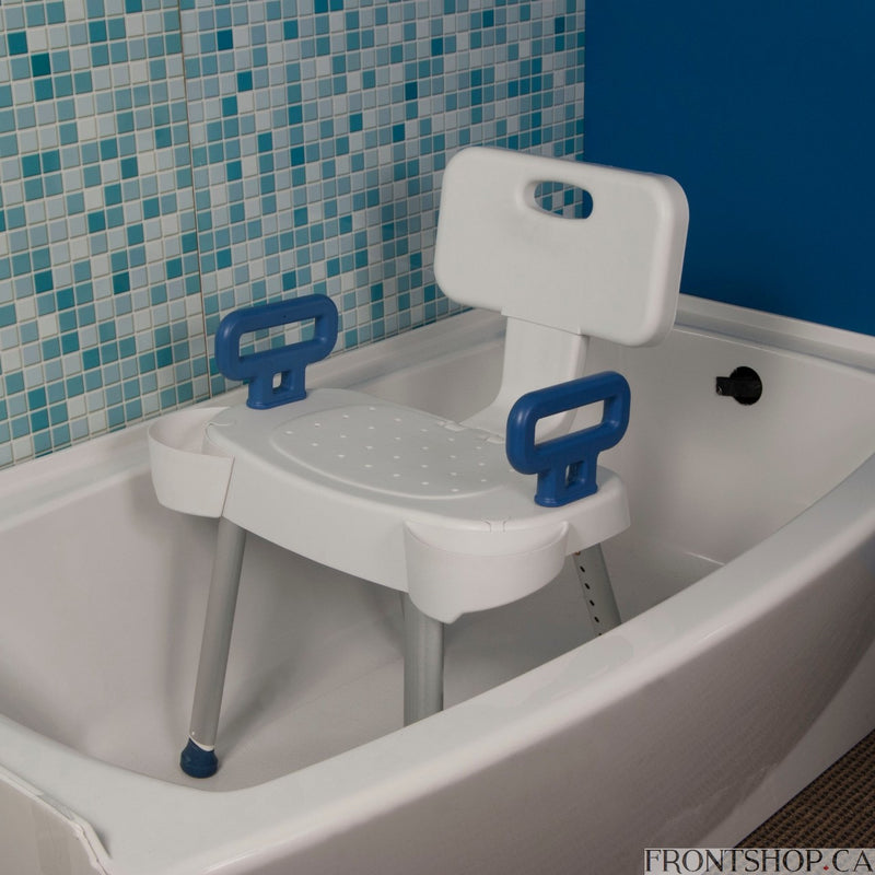 Arms for Shower Chair with Folding Back