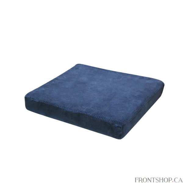 "The Drive Medical 3"" Foam Cushion is designed for seating comfort. It comes with a durable, machine washable jacquard zippered cover and is made from soft, premium quality memory foam."