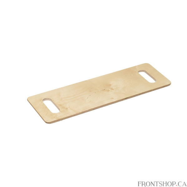 The Lifestyle transfer board is a simple aid to moving into and out of a wheelchair. The attractive lacquered birch board offer superior strength, capably accommodating patients up to 440 pounds.