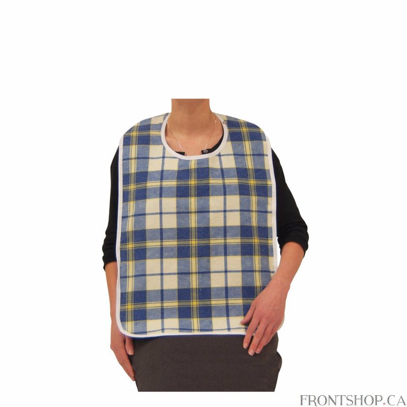 Lifestyle Flannel Bib, Medium