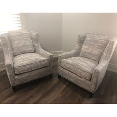 Custom Grey Chairs